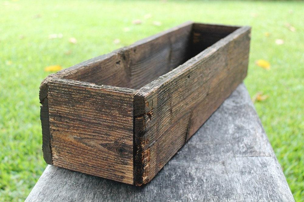 Decorative Wooden Boxes Australia : Rustic cedar planters box h