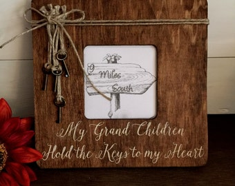 Picture Frame, Picture Frame for Grandparents, Grandparents Frame, My Grandchildren, Grandparents Gift