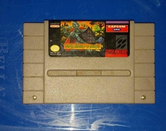 Super Ghouls and Ghost for SNES Super Nintendo