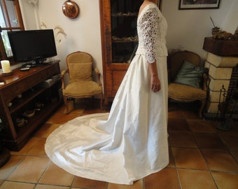 FRENCH WEDDING GOWN