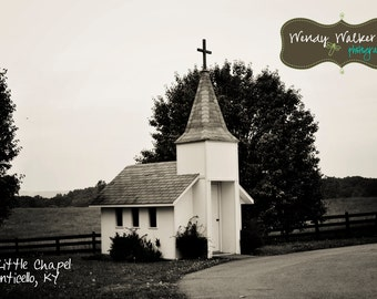 Chapel Artwork/The Little Chapel/Custom Photography|Kentucky