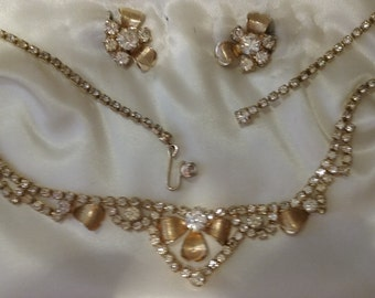 Princess Pride Bridal Necklace and Earrings