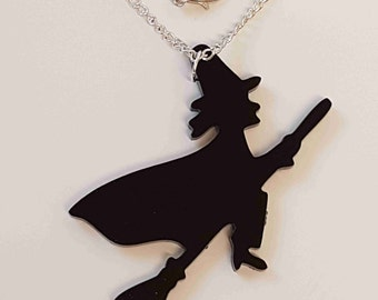 Halloween Witch Necklace - Acrylic