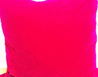Velvet Pink Cushion