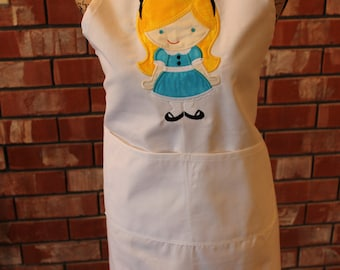 Fairy Tale Apron - Alice In Wonderland