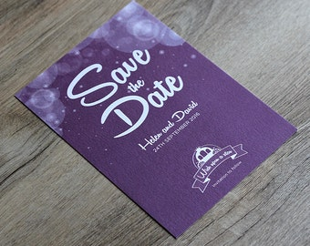 Enchanted Fairytale Save the Date Card