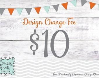 Design Change - Add On Listing
