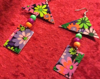For the love of flower earrings