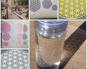 Flower of Life Sacred Geometry Decal - DECORATE & EMPOWER!