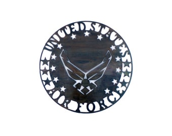United States Air Force Insignia Metal Wall Art