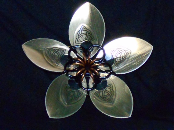 Triquetra scale flowers