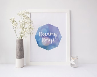 Nursery Print- Dreamy Days