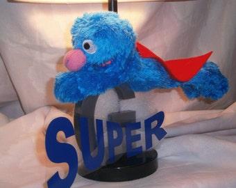 Super Grover Sesame Street Lamp