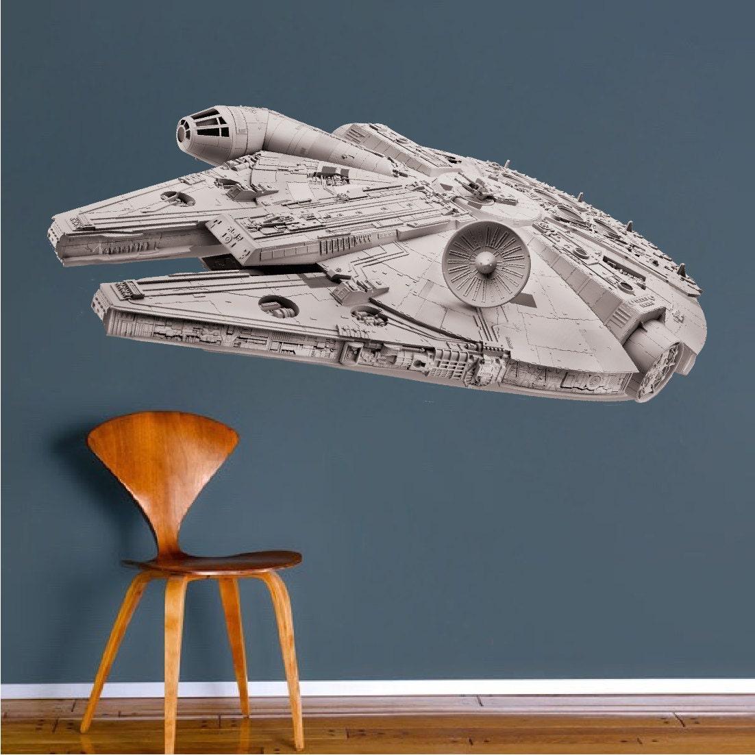 Millennium Falcon Decal Star Wars Decal Millennium Falcon
