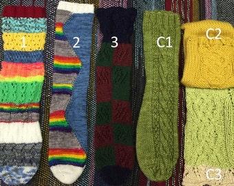 Adult Hand-Knit Socks