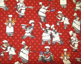 "New Chef Designer Cotton New Season Collection -45"" (112 cm) wide"