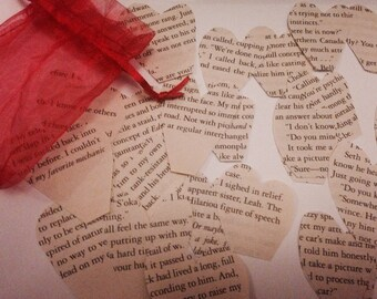 Breaking dawn recycled book confetti