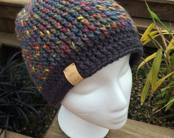 Ribbed Fitted Beanie