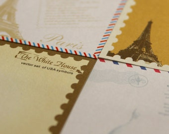 Notepad Paris - note adhesive - sticky notes - notepad