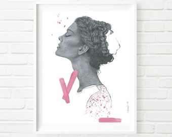 Limited Edition Fine Art Print from Original Illustration by Katie Munro 'Kyoto'