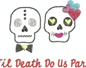 Til death do us part - Digital Embroidery Design