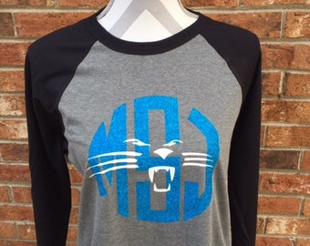 Panthers Inspired Baseball T