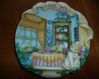 Vintage  Limited Edition 3D Plate