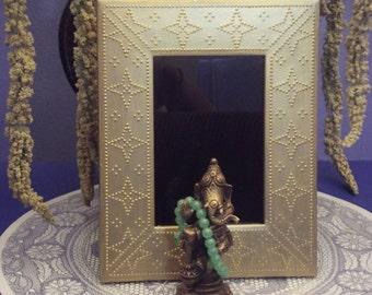 Golden Stars Scrying Mirror