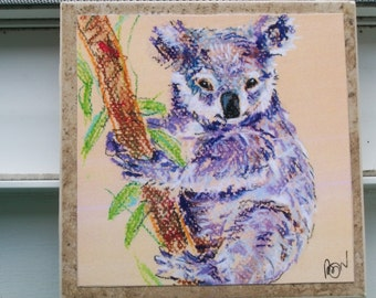 Koala Bear NoZoo Art Tile