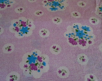 True Vintage Cotton Fabric, 1/2 Yard cut