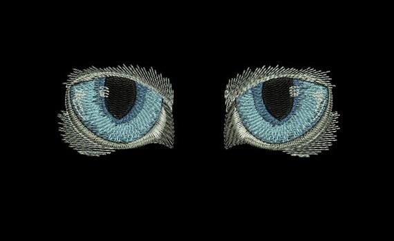 Machine Embroidery Design Eyes Cat Cat39s Eye Pattern