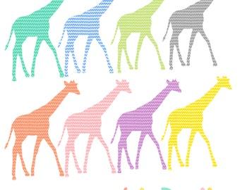 Giraffe Digital Clipart