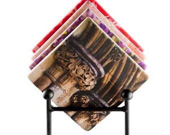 Tumbled Stone Coaster (Custom Photo)