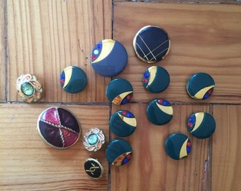 Vintage button assortment