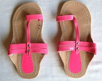 Children sandals,Pink Sandals,Childrens handmade sandals,kids shoes,sandals for baby girls,gifts for girls,kids stuff,baby sandals,