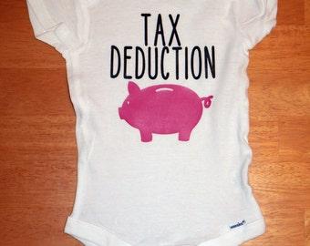 Tax Deduction Onesie