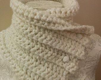 Neck warmer, cowl, scarf