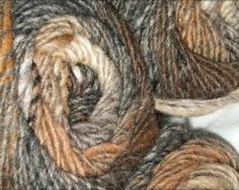 Noro Kureyon 100% Wool Knitting Yarn #149 Brown-Grey-Taupe