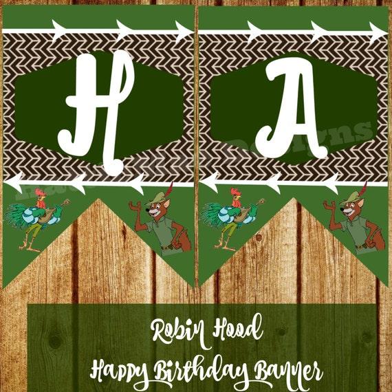 Digital Happy Birthday Disney's Robin Hood