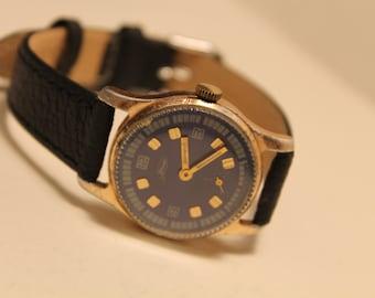 Vintage Soviet watch ZIM / Pobeda / wrist watch made in USSR mechanical watch Maslennikov.1960s