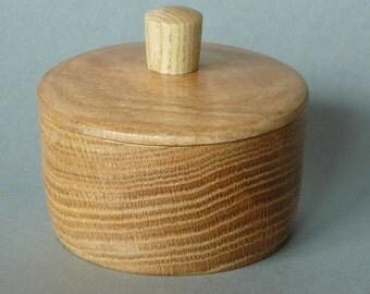 PO014 Pot salt salt oak/turnkey