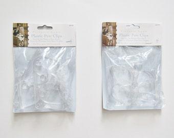Plastic Pew Clips - Clear - Pew Clips - Victoria Lynn