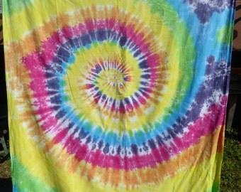 Tie Dye Single Cotton Duet Cover
