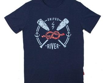 Dnipro river T-shirt