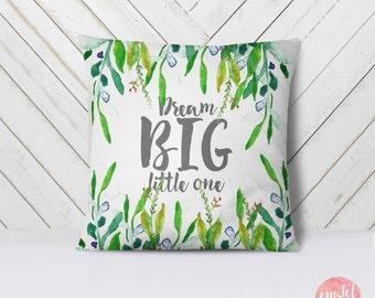 dream big little one pillow etsy. Black Bedroom Furniture Sets. Home Design Ideas