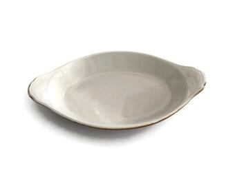Vintage Hall Pottery Au Gratin Dish
