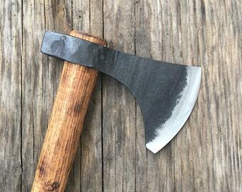 Large Tomahawk - Bearded axe - hand forged axe-throwing tomahawk axe-hand forged tomahawk -spike axe - battle axe -norse axe -hatchet-axe-ax