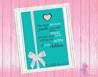 Baby & Co. Baby Shower Sign Digital File