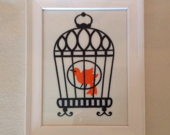 Bird in Birdcage