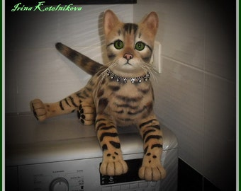 Sold! Bengal cat. Artwork is not available! Please contact me to make the personal order
